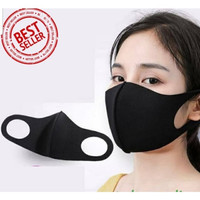 Masker kain / masker scuba bisa dicuci ulang mencegah debu dan virus