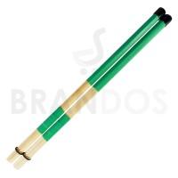 Stick Drum Brush Rod Dowel Rute Lidi Bambu STKD-22 Hijau