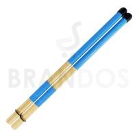 Stick Drum Brush Rod Dowel Rute Lidi Bambu STKD-22 Biru