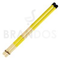 Stick Drum Brush Rod Dowel Rute Lidi Bambu STKD-22 Kuning