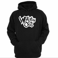 Jaket Sweater Hoodie Wild 'N Out Graphic Fleece Pullover Black