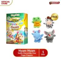 Arnott's Nyam-Nyam Teddy Chocochips Free Finger Puppets