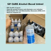 pembersih tangan hand sanitizer GP CARE antiseptic alcohol based 500ml
