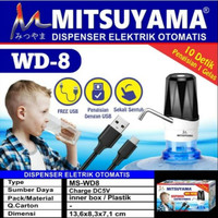 Mitsuyama MS-WD8 Dispenser / Pompa Air Galon Elektrik