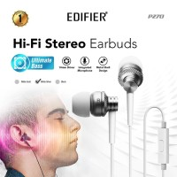 Edifier P270 Earphone with Mic - Silver