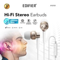 Edifier P270 Earphone with Mic - Gold