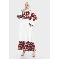 Hijab Ellysha KIMORRA BUTTERFLY EMBROIDERY EXCLUSIVE DRESS
