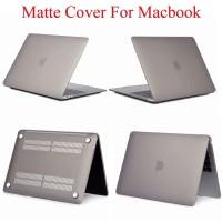 Cover HardCase Macbook Air 13 inch Retina Display A1932 Grey Matte