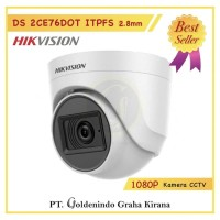 KAMERA CCTV HIKVISION 2MP DS-2CE76DOT-ITPFS Built-in Mic Audio