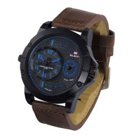 Jam Tangan Pria original BELMONT Dual Time BM 8027 NEW
