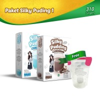 Paket Silky Pudding 1 - FREE Food Container