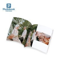"Album Foto Mini 6"" x 6"" 40 Halaman Softcover Persegi dari Photobook"