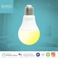BARDI Smart LED Home Automation Light Bulb WW 9W Wifi - Dim CCT
