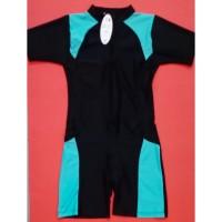 baju renang diving wanita (tangan pendek+celana pendek)