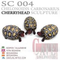 Replika patung tortoise Cherry head cherryhead CH kura kura darat