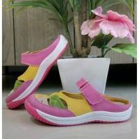 Sepatu selop anak perempuan Flat shoes Kipper tipe Lady ukuran 26-30