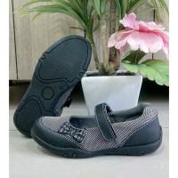 sepatu flat anak perempuan slip on ukuran 26-30 merek Crakckers C025