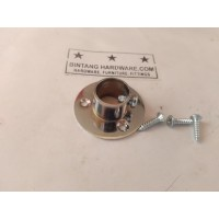 Dop Pipa Bulat 1/2 inch Bahan Kuningan Bracket Topi 12mm DP001B /pcs
