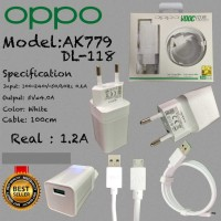 Travel Charger Oppo Ak779/DL-118 4.0A No Vooc Grade A Best Quality