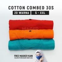 MH - Kaos Polos Cotton Combed 30s PREMIUM