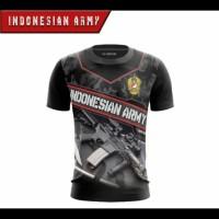 KAOS TNI SINGLEPRINT INDONESIAN ARMY SUBLIME JERSEY