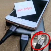 Ugreen Magnetic Kabel Data Charger Lightning iPhone 6 7 8 X S Plus