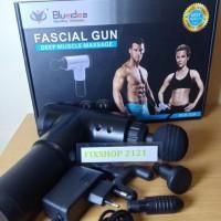 Fascial Gun Alat Pijat Badan Otot Dan Bisabuat Leher 4 Mata Pijat