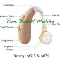 Alat bantu dengar - BTE Hearing Aid Axon B 13