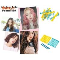 (High Quality) 12pcs Soft Magic Hair Curler Bendy Roller Curl DIY