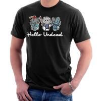 Kaos Hello Kitty Undead Zombies T-shirt