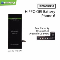 Baterai iPhone 6 Batre Hippo Premium Quality Battery Cell