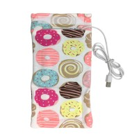 Tas Penghangat Botol Susu Bayi Portable dengan USB untuk Travel