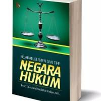 Sejarah, Elemen dan Tipe Negara Hukum-Abdul Mukthie Fadjar