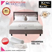 Springbed KING KOIL Viscountess 100 x 200 FULL SET Kasur Spring bed