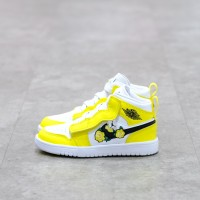(Pre-School) Nike Air Jordan 1 Dynamic Yellow 17cm~22cm 100% Authentic