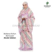 Mukena Katun Bali Super - Model Setelan (100% Asli)