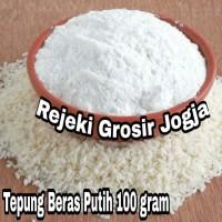 Tepung MPASI Organik / Tepung BERAS PUTIH Organik kemasan 100 gram