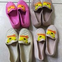 SALE STOCK Sepatu Karet Selop Anak Perempuan Anti Air Random