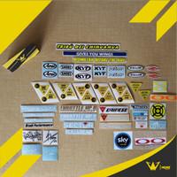 Stiker Visor Helm Sticker Murah Cocok Untuk HJC, Shoei, AGV, Arai, dll