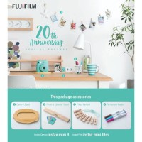 Fujifilm Instax Mini 9 Package 20th Anniversary
