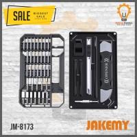 Jakemy JM-8173 69 in 1 Obeng Set HP For Iphone Macbook Laptop Jam