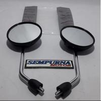 Kaca Spion Set Scoopy Hitam Ori AHM Original Honda Kanan 88110-KYT-940