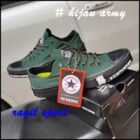 Converse all star CT with lunarlon converse chuck taylor sepatu casual - Hitam, 39