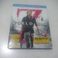 World War Z Blu-ray + DVD with slipcover
