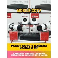 Paket CCTV Dahua 4 Channel 2MP Full HD 1080P / Cooper Series