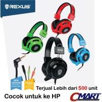 Rexus Headset Gaming Vonix F26 F 26 F-26 Headphone Head Set EarPhone