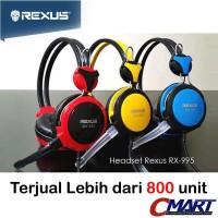 Rexus Headset Gaming Vonix RX995 Headphone Head Set EarPhone - RX-995
