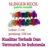 Slinger Natal Kecil / Tinsel / Garlan / Hiasan Natal (Per Pcs)