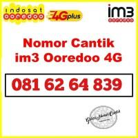 Nomer cantik Indosat kartu perdana im3 ooredoo 10 digit 4G 4839