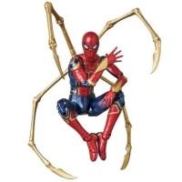 MAFEX 081 Marvel Avengers Infinity War Iron Man Action Figure Toys